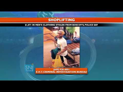 Shoplifting Suspect Wanted in Atlantic County