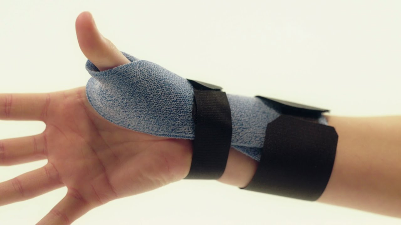 Orthosis For De Quervain S Tenosynovitis Orficast