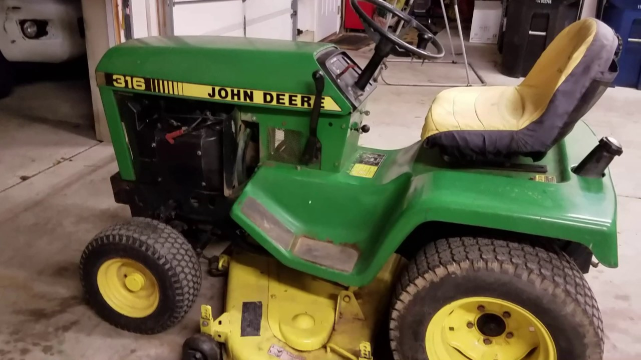 Winter Project - Fixing Up the 1984 John Deere 316 on