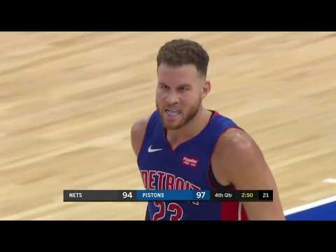 Brooklyn Nets vs Detroit Pistons | October 17, 2018