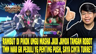 BELI SKIN STARLIGHT MASHA SOLO RANK AUTO DPT TEAM BAGUS - MOBILE LEGENDS INDONESIA