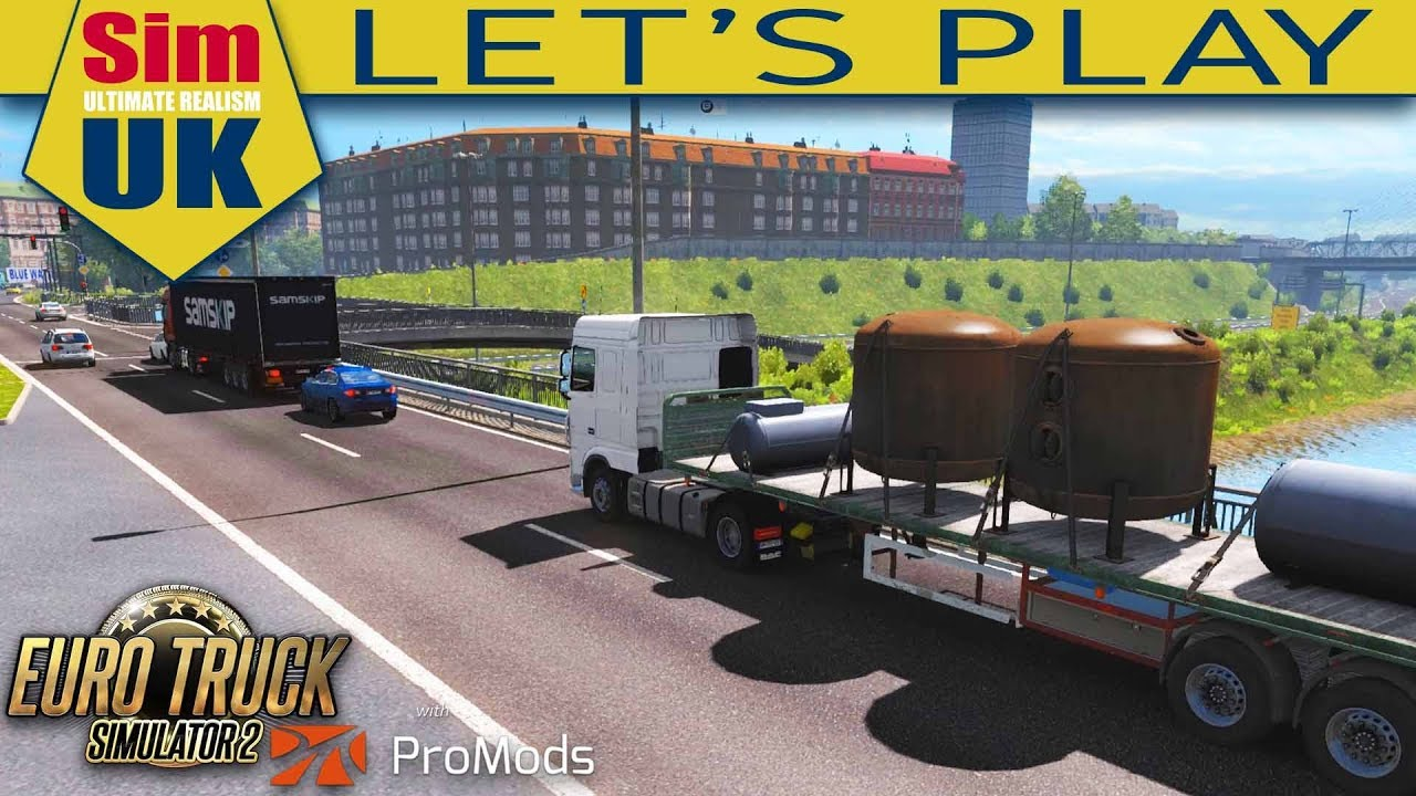 0129473f617 What's Coming in 1.3.2 + Channel Update | #6 Euro Truck Simulator 2 +  ProMods. Sim UK
