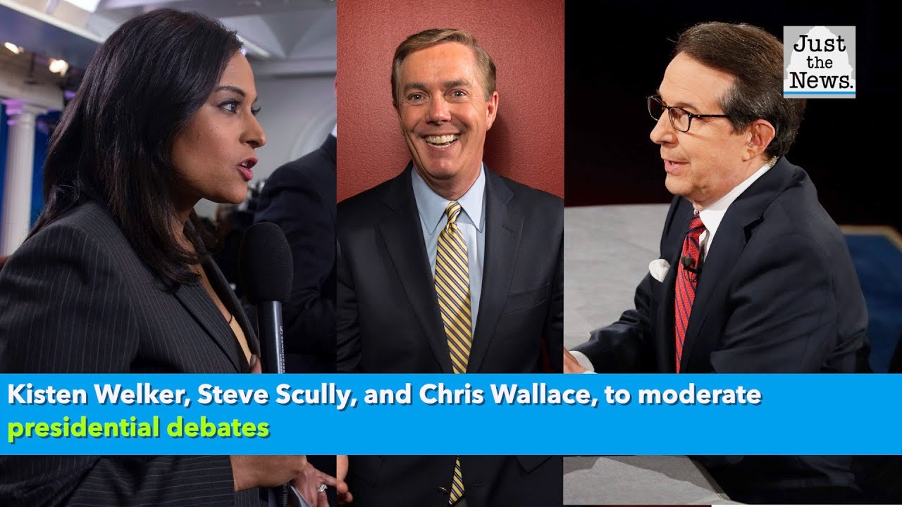 Presidential debates to be moderated by Chris Wallace, Steve ...
