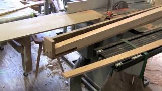 Making Pencil Posts- #1- The Table Saw Taper Jig