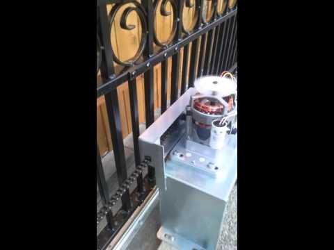 Installing aleko 14' sliding gate part 3
