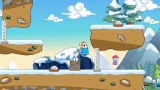 Elsa Field Loss Weight, 2D Platform Games, Videos Games for Kids - Girls - Baby