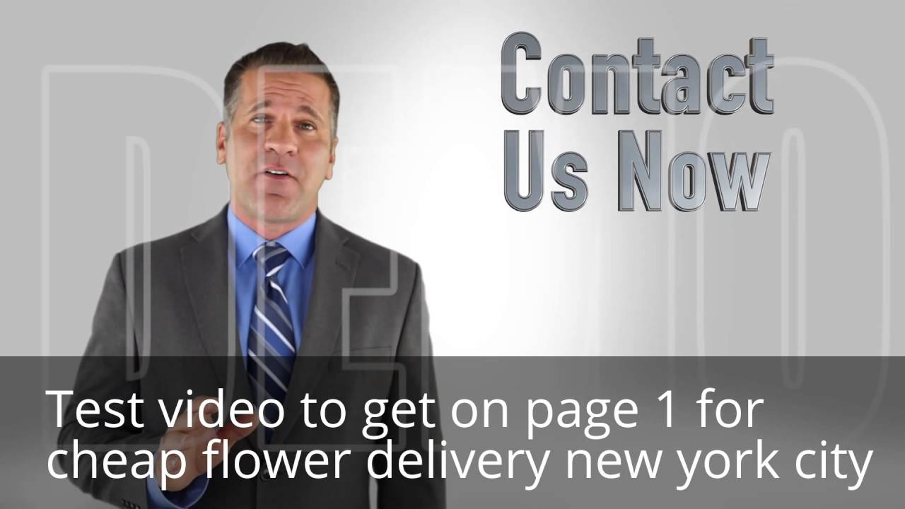 Cheap Flower Delivery New York City Youtube