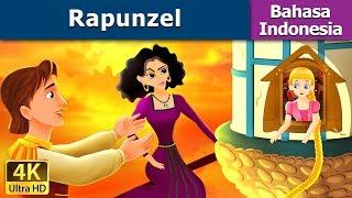 Gambar cover Rapunzel in Indonesian | Dongeng anak | Kartun anak | Dongeng Bahasa Indonesia