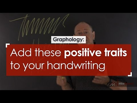 Graphology: Add these positive traits to your handwriting
