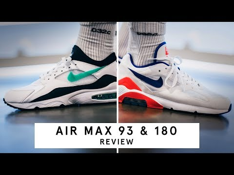 Nike Air Max 180 & 93 | Review (German)