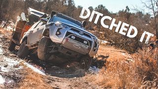 4Runner slides off the trail... Time for mud tires? S2E25