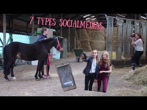 7 types social media personen op stal!! ft. Cuteshetlandpony!!