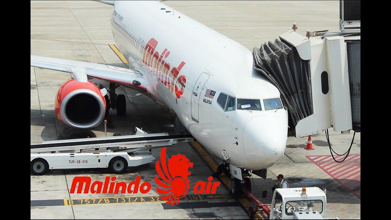 Malindo Air: Bangkok To Kuala Lumpur - YouTube