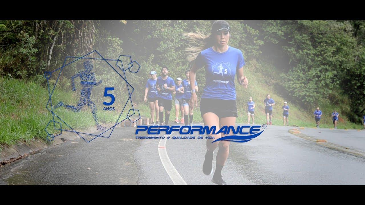 5 anos - Performance Treinamento - Grupo de corrida e Triathlon em Blumenau