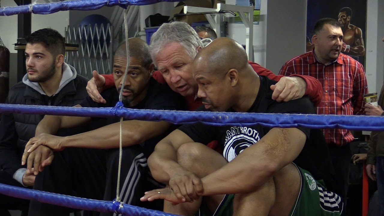 Lucian Bute trains for his upcoming fight against James DeGale