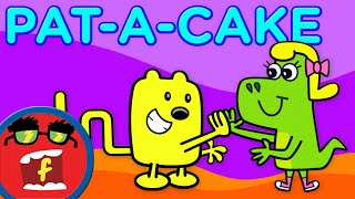 Pat A Cake Fredbot Kids Songs Lucy the Dinosaur