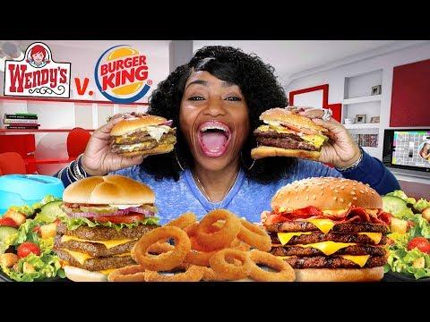 Triple v  Triple Bacon Cheeseburger Challenge