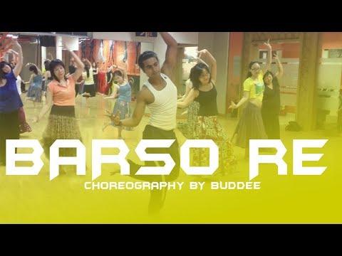 Barso Re Megha Dance Choreography by Buddee | Bollywood dance style