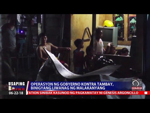 Operasyon ng Gobyerno kontra tambay, binigyang liwanag ng Malakanyang