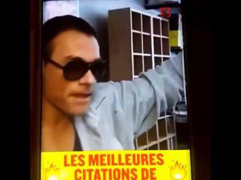 Les Meilleures Citations De Jean Claude Van Damme Mdr Youtube