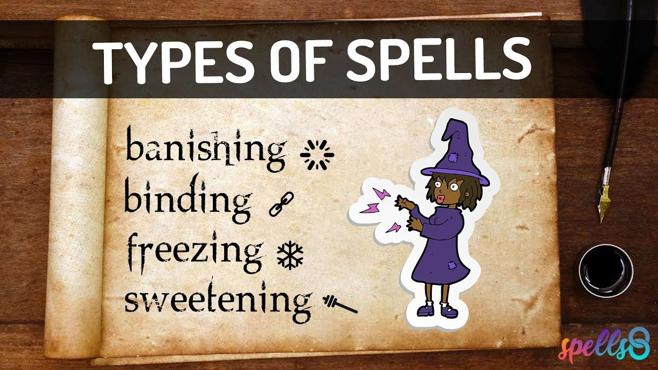 The Many Types of Witches Spells (Real Magic) | Spells8