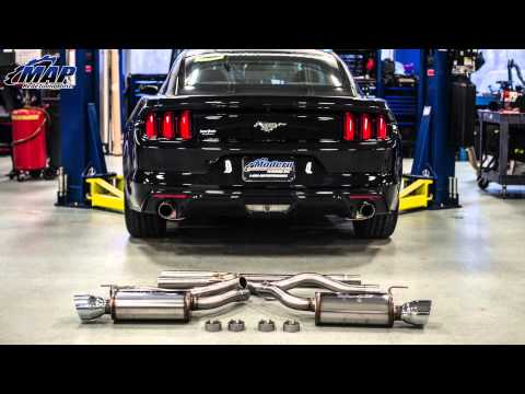 Magnaflow Sport Catback Exhaust Kit (19097) For 2015 Ecoboost Mustang Sound Clips & Review