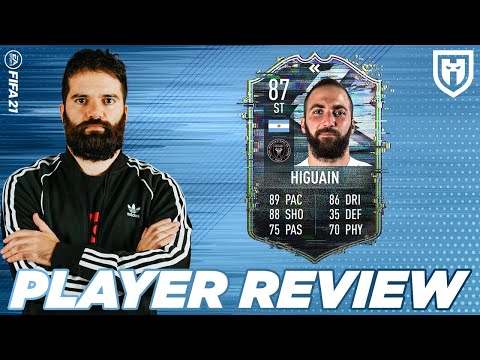 GONZALO HIGUAIN 87 PLAYER REVIEW *GAMEPLAY*