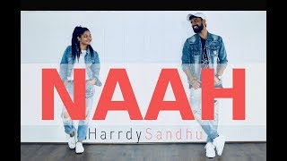 Naah Harrdy Sandhu Zumba Dance | Naah Hip Hop Dance Choreography | Zumba Easy Dance Workout