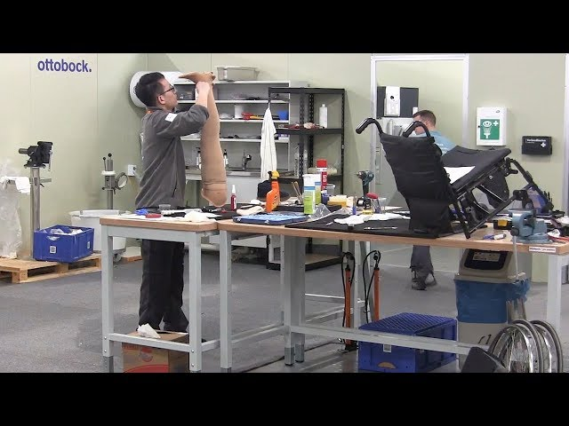 """Thirty technicians from a dozen different countries are in Pyeongchang to fix prosthetics and other equipment for Paralympic athletes. The repair centre's organizing director says there are """"no standard"""" solutions. (The Canadian Press)"""