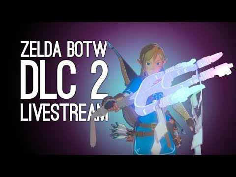 ZELDA DLC 2 LIVESTREAM! Outside Xtra Plays Zelda BOTW DLC The Champion's Ballad, LIVE @ Loading Bar