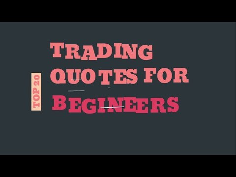 Top 20 Trading Quotes for Beginners