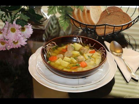 Суп с фрикадельками ★Cамый вкусный суп