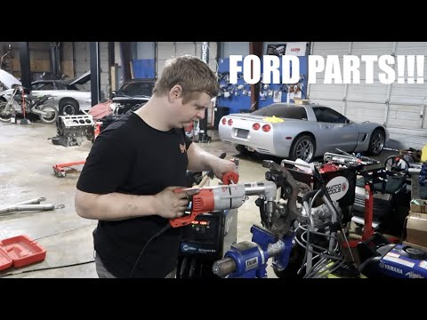 Using FORD PARTS To Make Our RACE TRUCK FASTER!!!!!!!