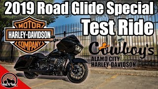 2019 Road Glide Special 114 Test Ride + Boom! Box GTS Infotainment System