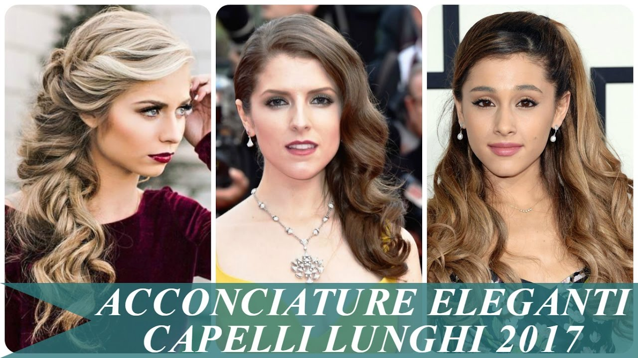 Extrêmement Acconciature eleganti capelli lunghi 2017 - YouTube GN24
