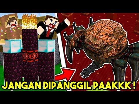 JANGAN PERNAH MEMANGGIL BOSS INI DI MINECRAFT !!