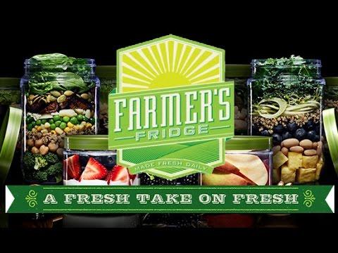 Farmer's Fridge: A Fresh take on... Fresh!