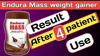 Endura Mass review/Endura Mass weight gainer result.