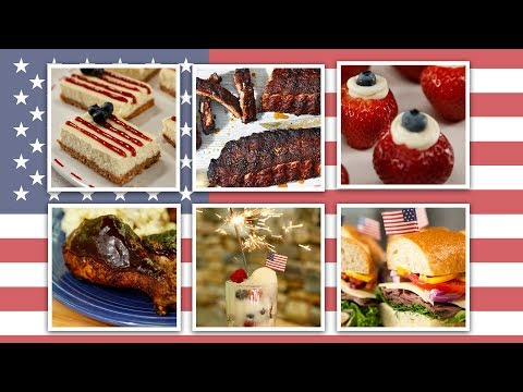 15 Fourth Of July Recipes | Red, White, And Blue Super Comp | Well Done