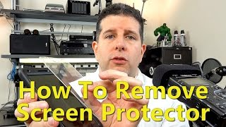 How To Remove The Screen Protector From The OtterBox Defender Galaxy Note 4