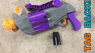 TAG BACK! - Rarest Toy Foam Blaster I Own (R.A.W. The Force)