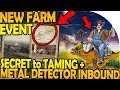 NEW FARM EVENT, SECRET to TAMING - METAL DETECTOR - Last Day on Earth Jurassic Survival Update 1.1.2