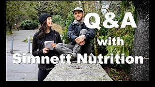Q&A - Simnett Nutrition - Protein, building muscle, supplements, workouts and MORE!