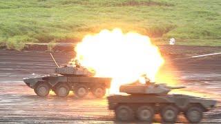 電子戦に水陸機動団も展開‼︎ 平成30年度 富士総合火力演習 学校予行 後段演習