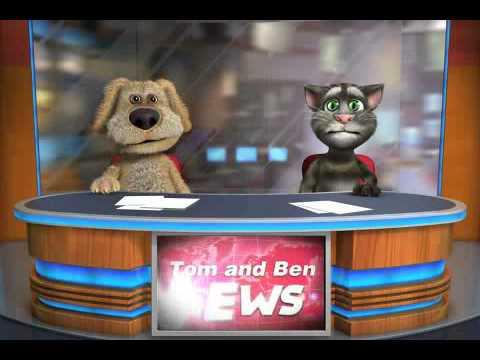 Talking Tom & Ben News første gang (norsk)