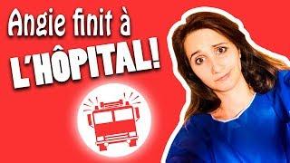 Angie tombe et se retrouve à L'HÔPITAL - Angie la crazy série