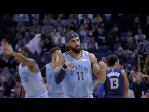 [Highlights] Mike Conley hits a career high 7 3's on his way to 28 pts, 5 reb, 7 ast, 2 stl - Full Highlights with Defense