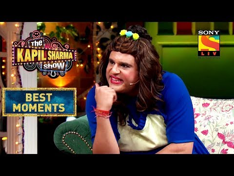 Sapna's ''Do Jism Ek Dress'' Analogy | The Kapil Sharma Show Season 2 | Best Moments