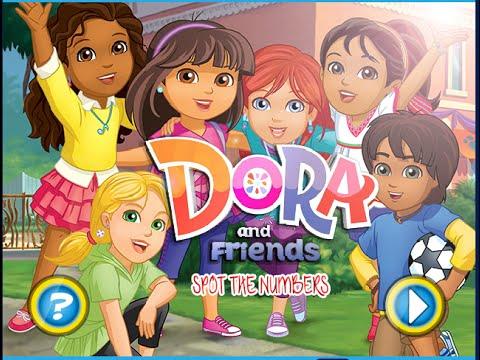 Free Dora The Explorer Games Online Dora And Friends