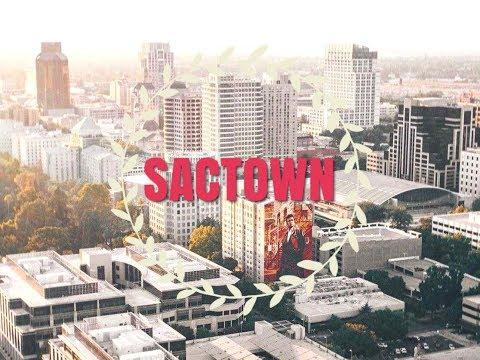 Downtown Sacramento in 4K Cinematic